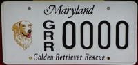 GRREAT MD License plate